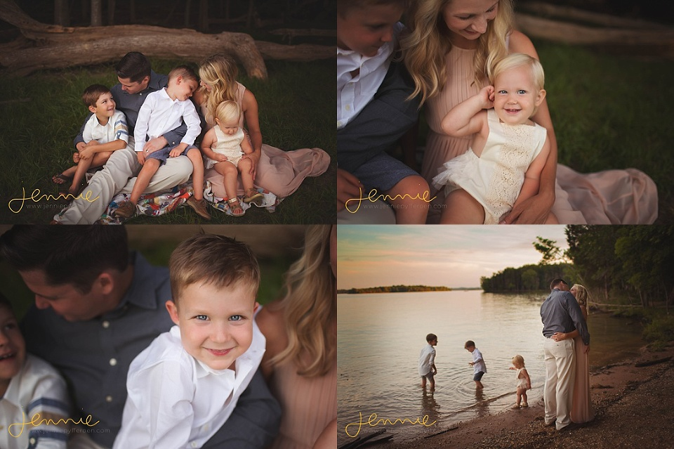 Nashville Family Photographer Children Water Lake Beach
